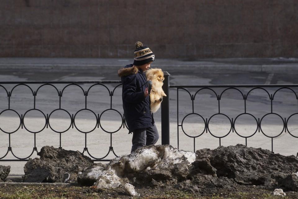 Погода в Кузбассе на 8 апреля: До +9 и снег с дождем