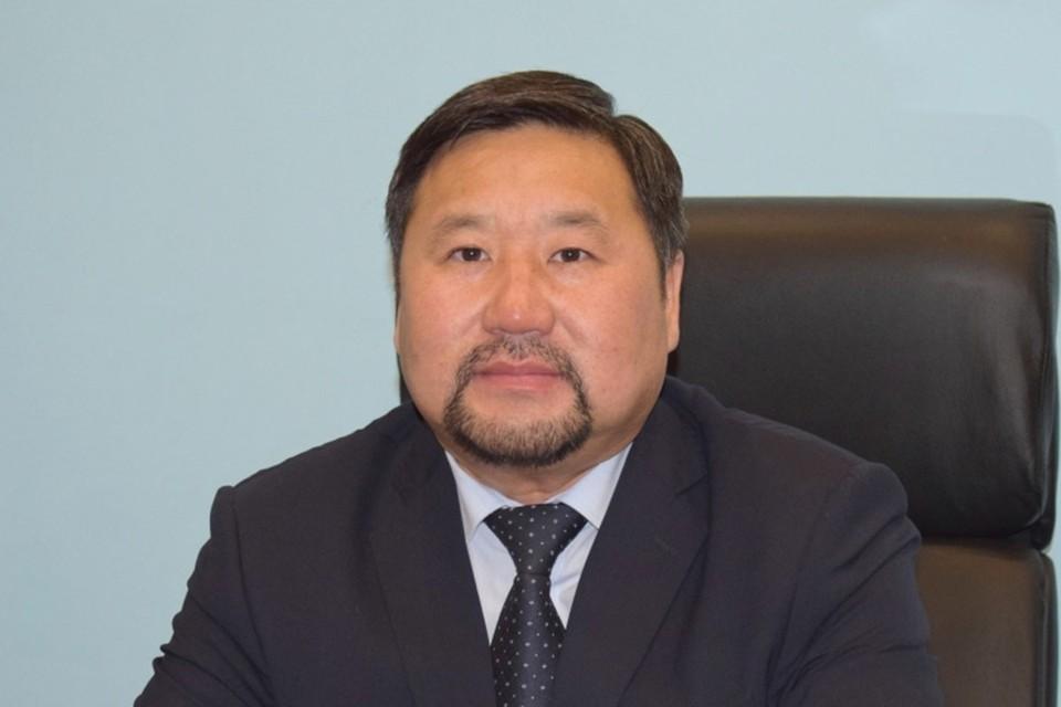 Врио главы Тувы Владислав Ховалыг. Фото: Туваэнергосбыт