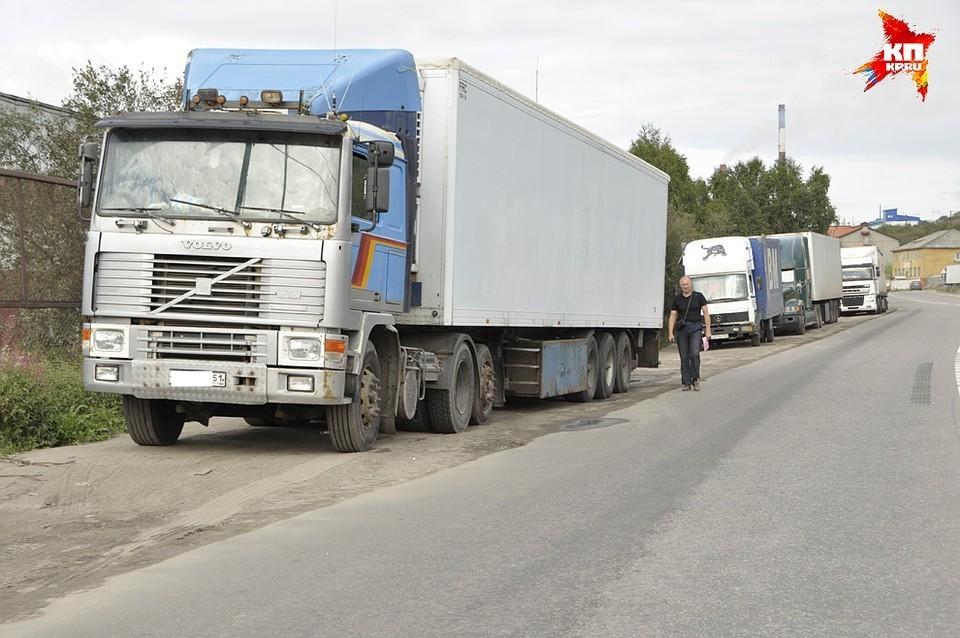 Для большегрузов ограничено движение по региональным дорогам