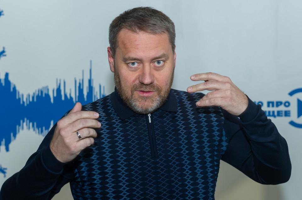 """Вице-губернатор Александр Бельский дал эксклюзивное интервью радио """"КП-Петербург""""."""