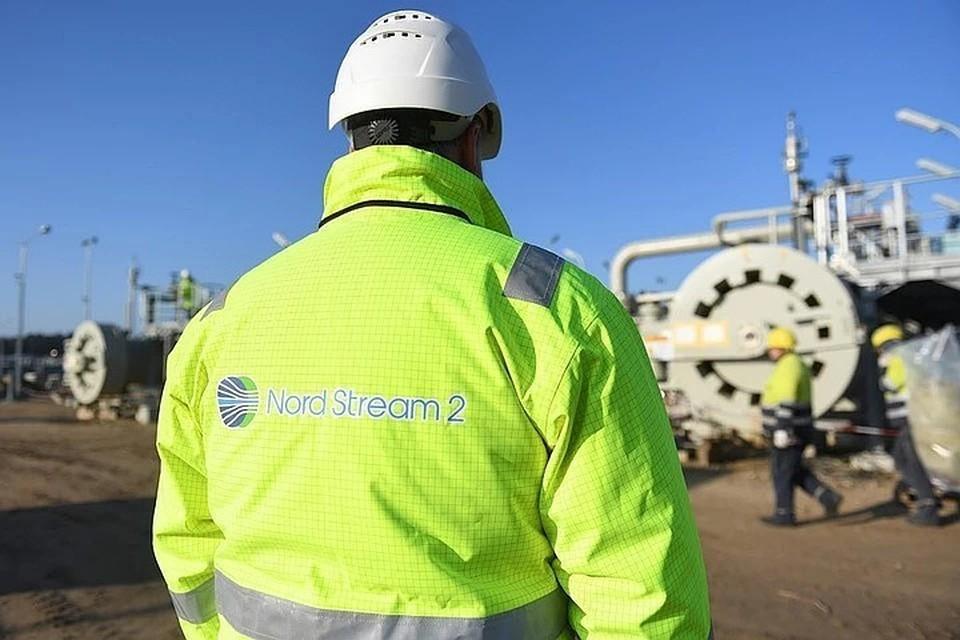 Строительство газопровода «Северный поток – 2» близится к завершению