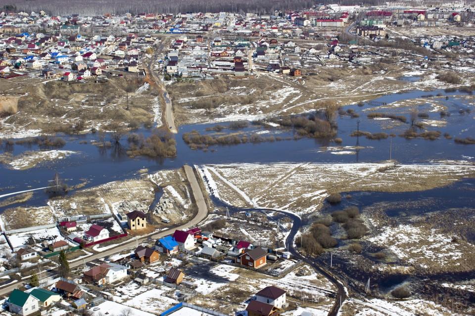 Паводок в Нижегородской области набирает обороты.