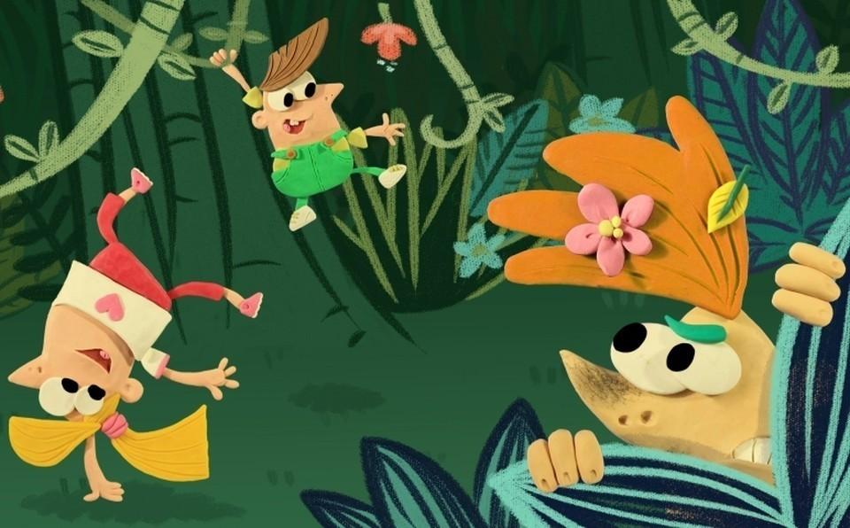 Герои мультфильма изменились внешне, но характеры остались прежними.
