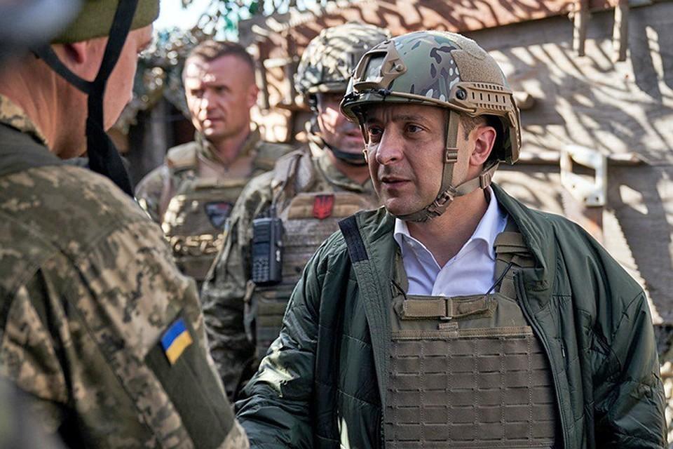 В ДНР сообщили о флаге вермахта на украинских позициях после визита Зеленского