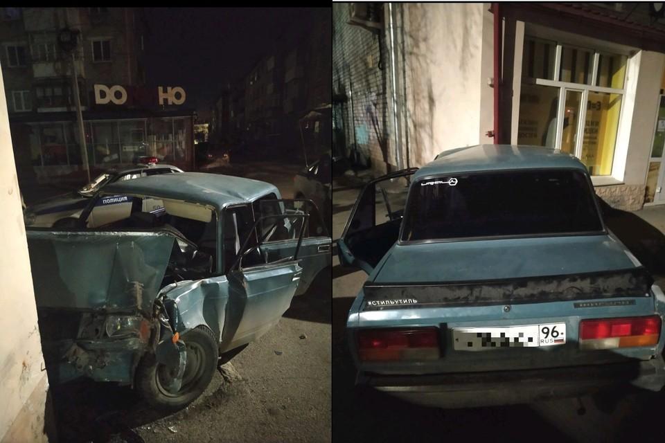 Чтобы покатать подругу, парень угнал машину друга Фото: УГИБДД по Свердловской области