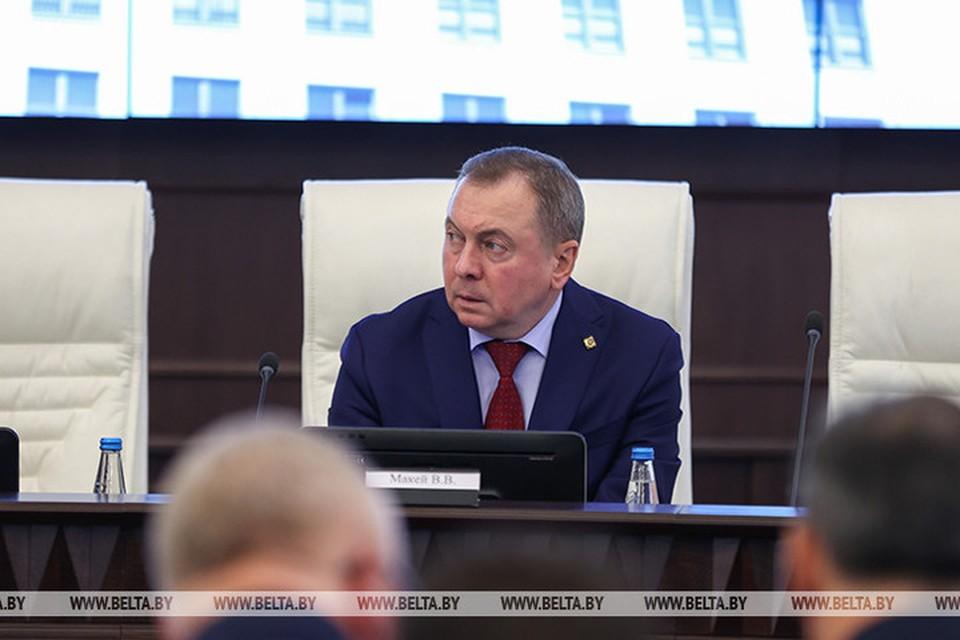 Макей прокомментировал предложение о переносе переговоров по Донбассу из Беларуси в «нейтральную» Польшу. Фото: БелТА