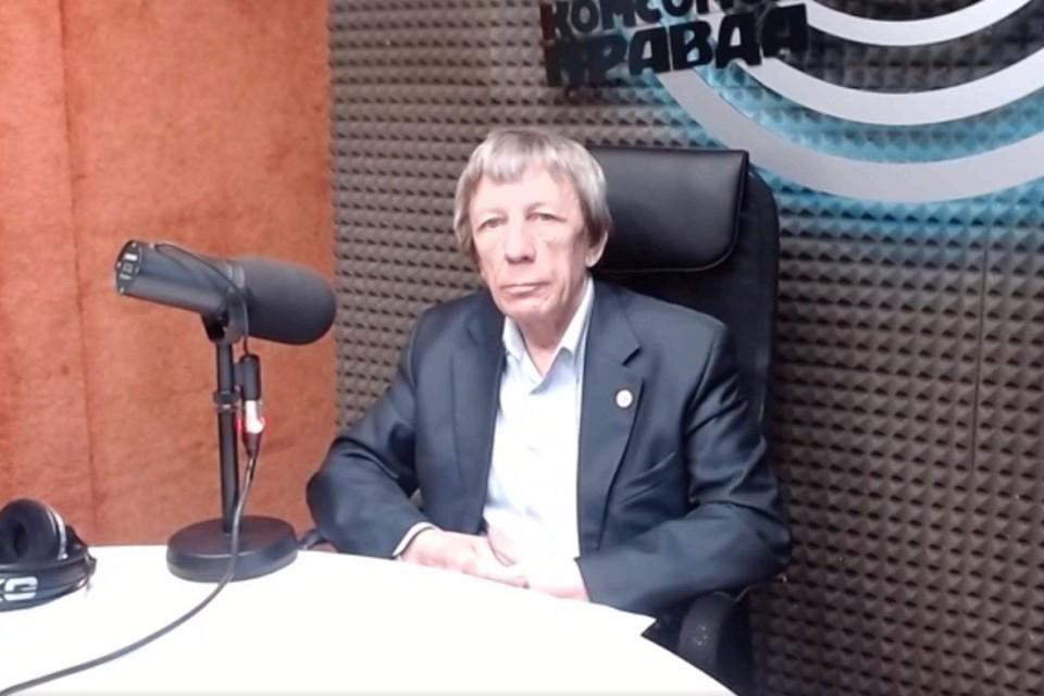 Директор НПФ «Исследовательский центр» Александр Леляк. Фото: стоп-кадр видеотрансляции КП.