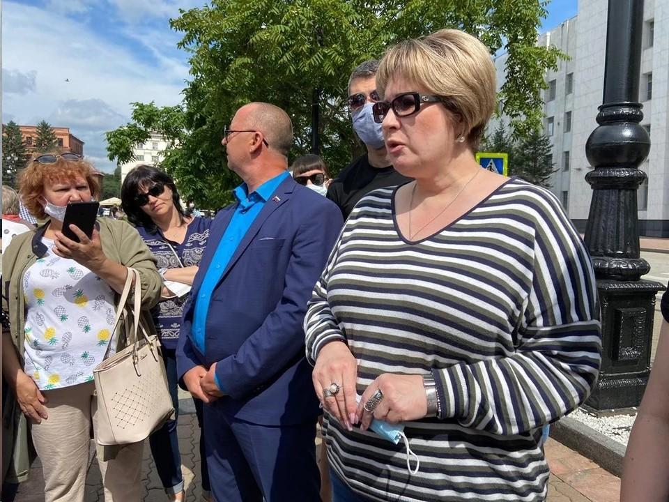 Сенатор в Совфеде от Хабаровского края Елена Грешнякова вышла из ЛДПР