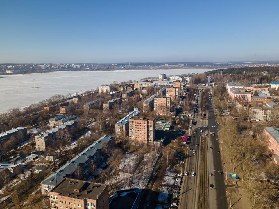 Погода в Ижевске начинает налаживаться
