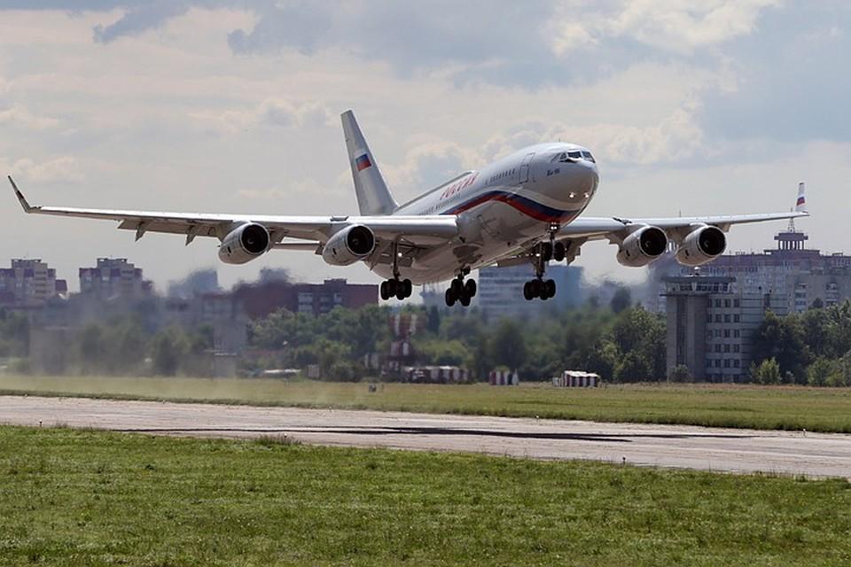 Ил-96 Фото: Марина Лысцева/ТАСС