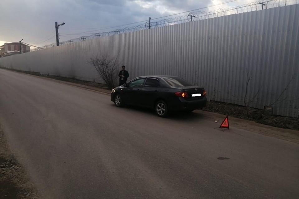 Восьмилетнюю девочку сбила машина в Хабаровске