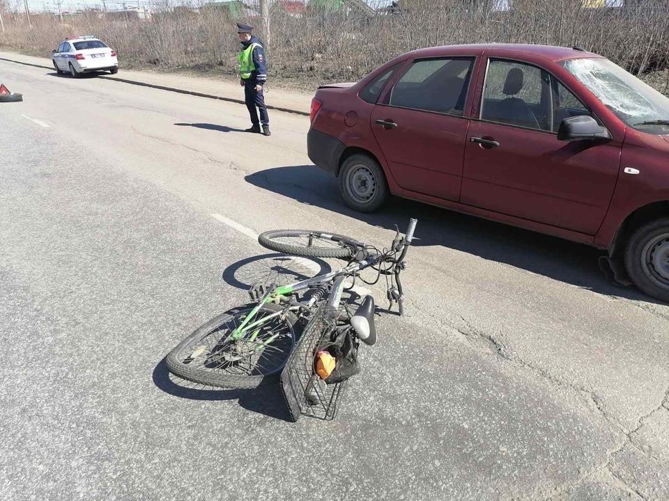 Мужчину увезли в больницу. Фото: ГИБДД Челябинска