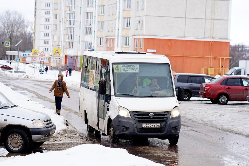 В Зареченском микрорайоне Орла изменится схема движения транспорта