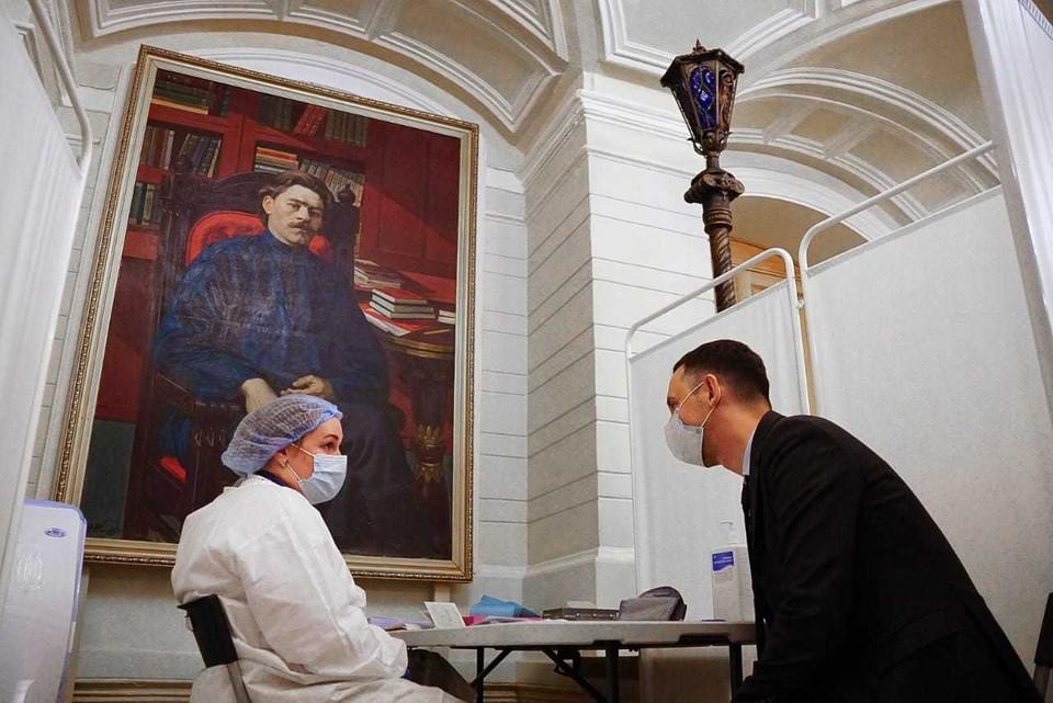 Ещё один пункт вакцинации от COVID-19 открыли в Нижегородском театре драмы 20 апреля