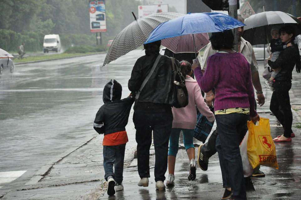 Завтра ожидаются кратковременные дожди.
