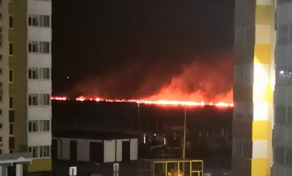 Так сейчас выглядят окрестности Амура-2. Фото: «Инцидент Омск»