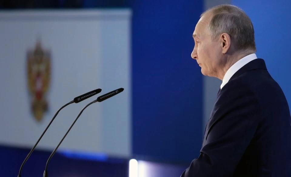 Песков ответил, сколько Путин спал перед посланием