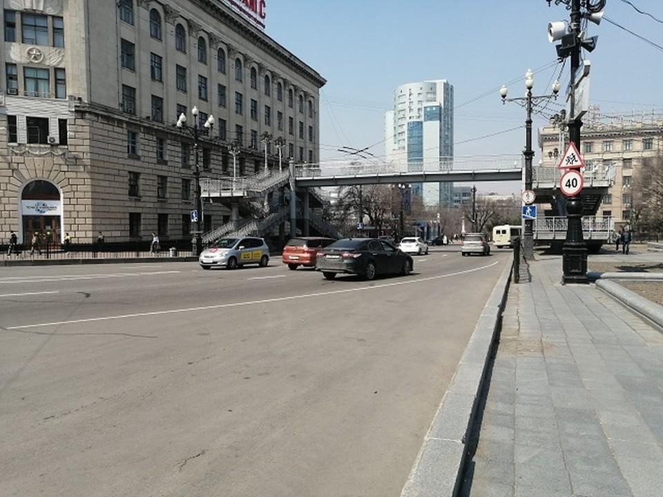 Перед Днем Победы в Хабаровске будет ограничено движение личного и общественного транспорта