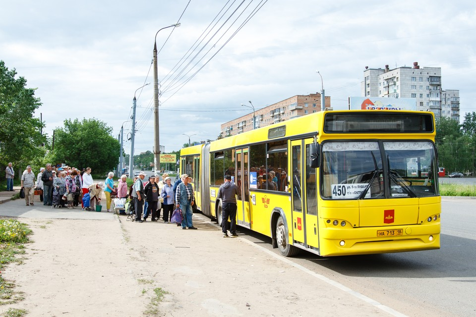Автобус № 450 начнет ходить в Ижевске с 24 апреля