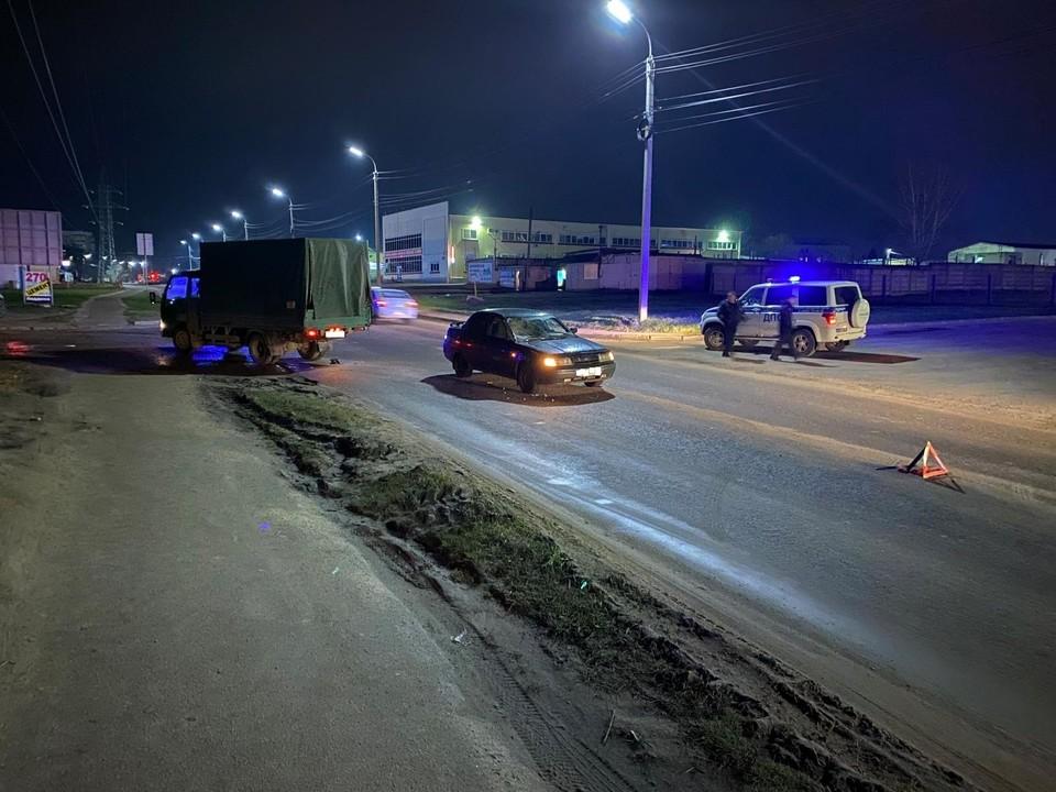 Девушка-пассажир пострадала при ДТП