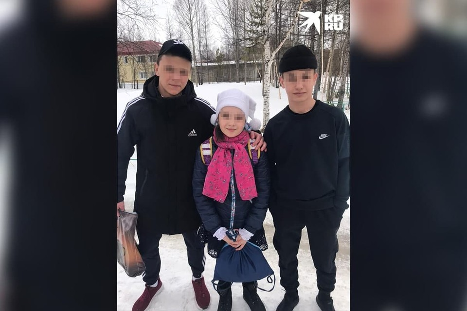 Андрей Невский, Фабрициус Анфиса, Никита Барков, фото предоставлено мамой пострадавшей девочки