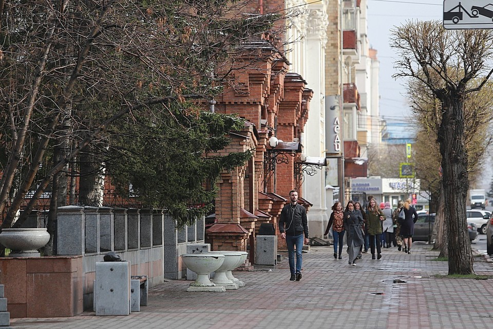 В Красноярске на выходных ожидаются дожди и потепление до +8 градусов