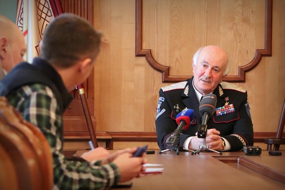 Фото предоставлено пресс-службой Всероссийского казачьего общества