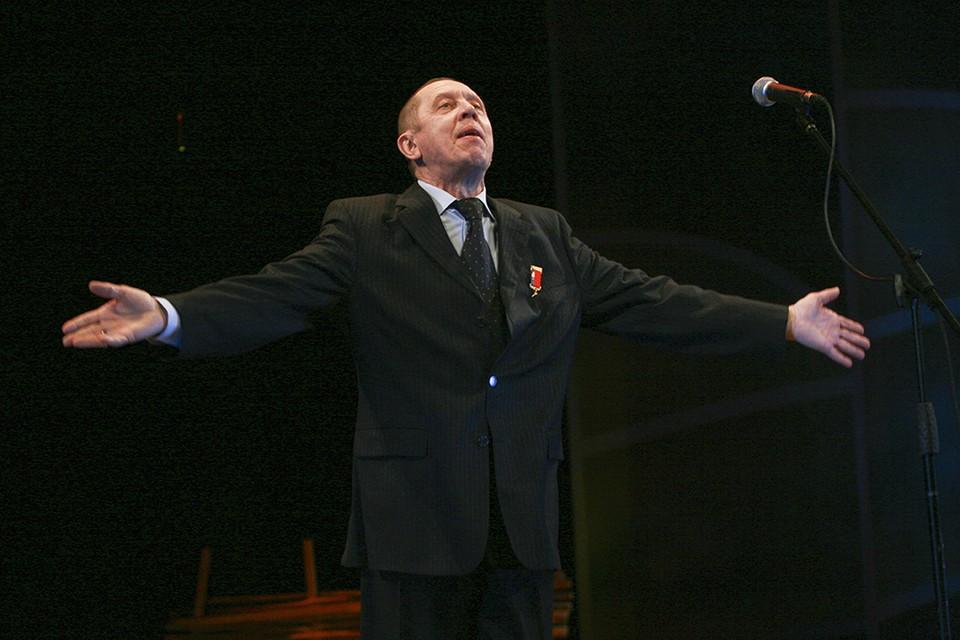 Валерий Золотухин был художественным руководителем МТА с 2003 по 2013 годы