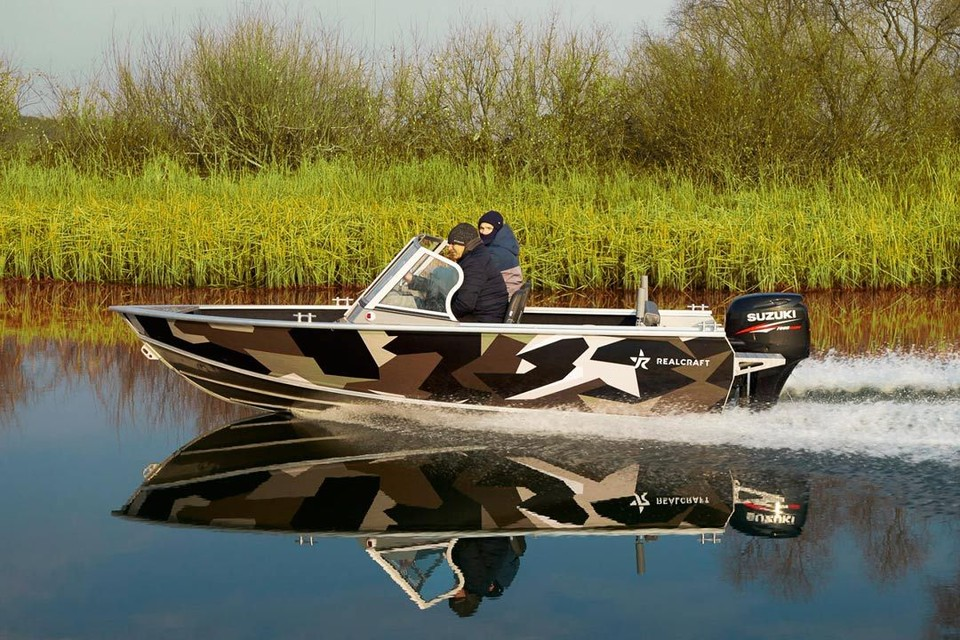 Главный приз: моторная лодка RealCraft 460. Фото: www.salut-boats.ru