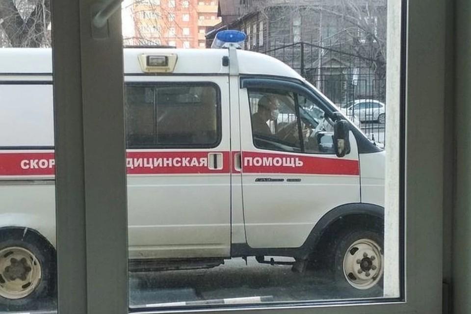 Водитель сам вызвал скорую помощь
