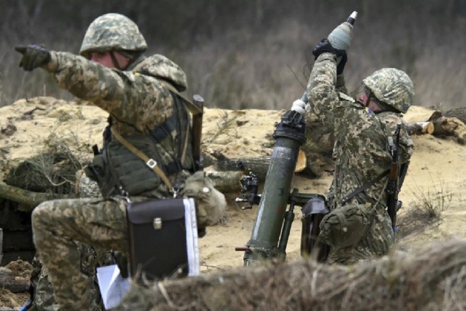 Киевские войска применяют в Донбассе тяжелую артиллерию. Фото: штаб «ООС»