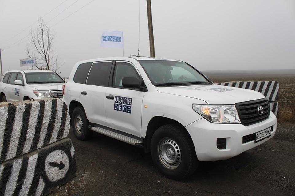 ВСУ продолжают попытки блокировки деятельности миссии ОБСЕ (архивное фото)