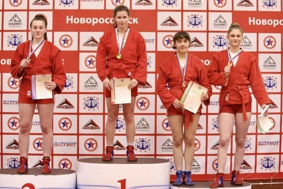 Брянская спортсменка победила на Первенстве России по самбо.
