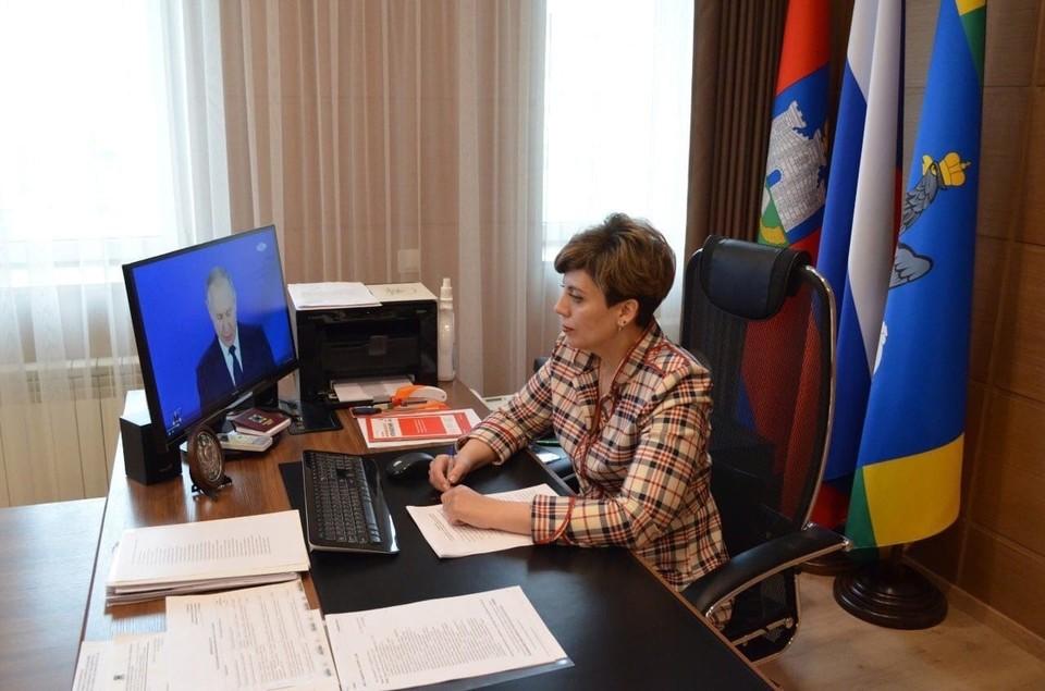 Лилия Пиняева возглавила Избирательную комиссию Орловской области. Фото: https://vk.com/leonid_muzalevsky