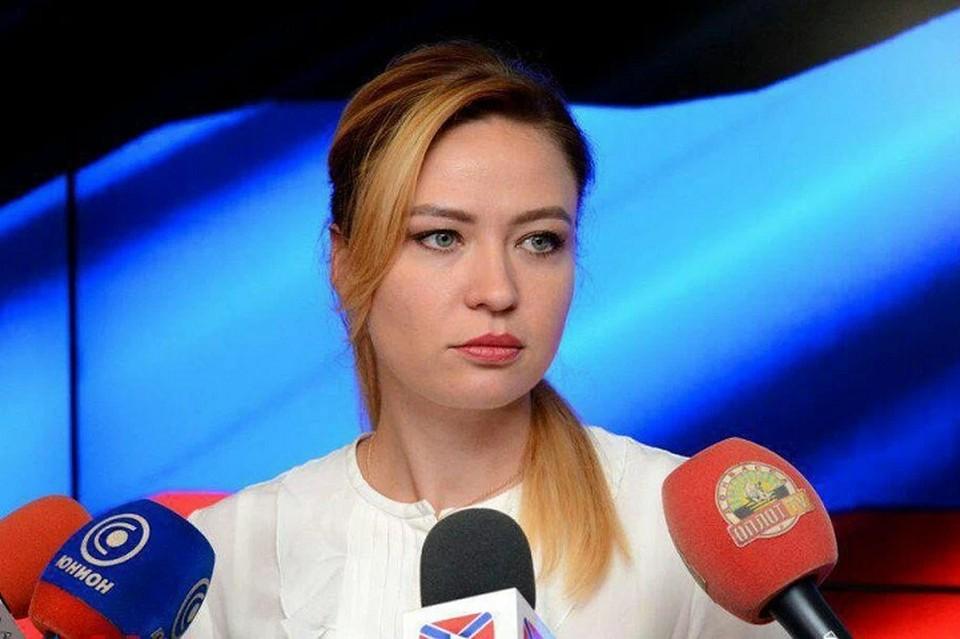 Наталья Никонорова. Фото: МИД ДНР