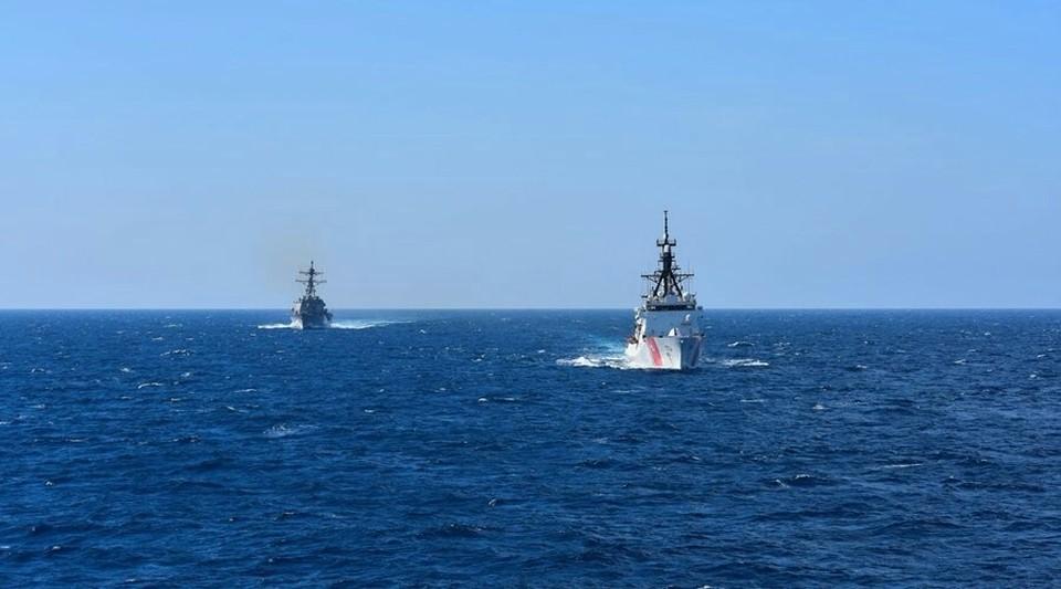 Недавно Россия закрыла часть районов Черного моря для иностранных кораблей. Фото: U.S. Sixth Fleet / Twitter.