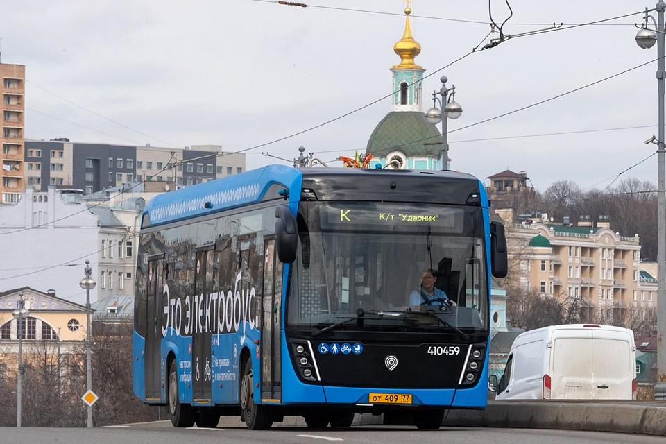 В Москве разворачивается большая программа замены пассажирского автобусного парка на электробусы