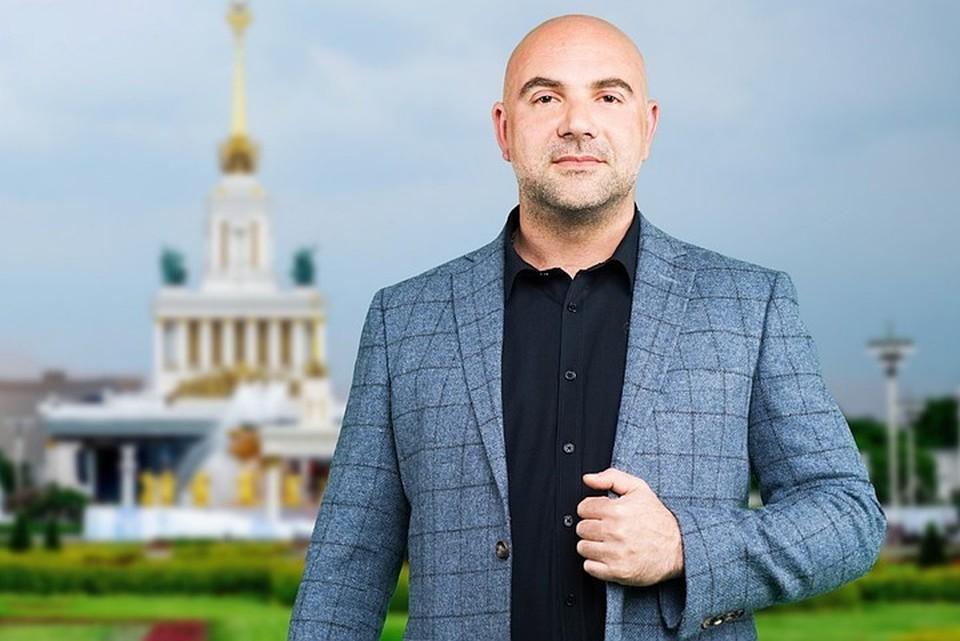 Тележурналист, лидер общественного движения Тимофей Баженов. Фото: Максим МАНЮРОВ.