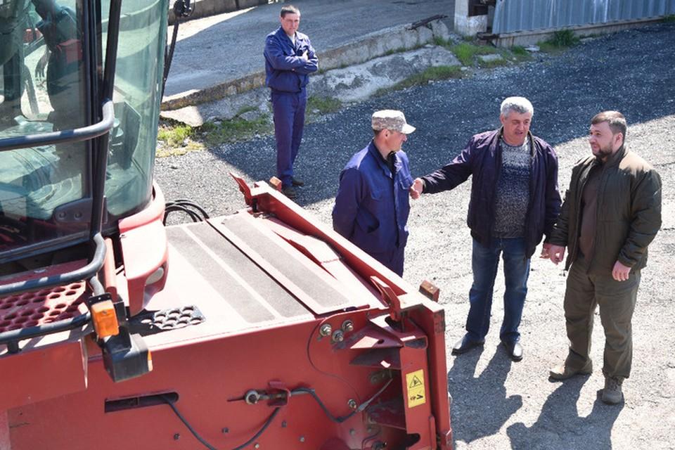 Встреча с аграриями прошла на базе агрофирмы «Россия-Нова». Фото: АГ ДНР