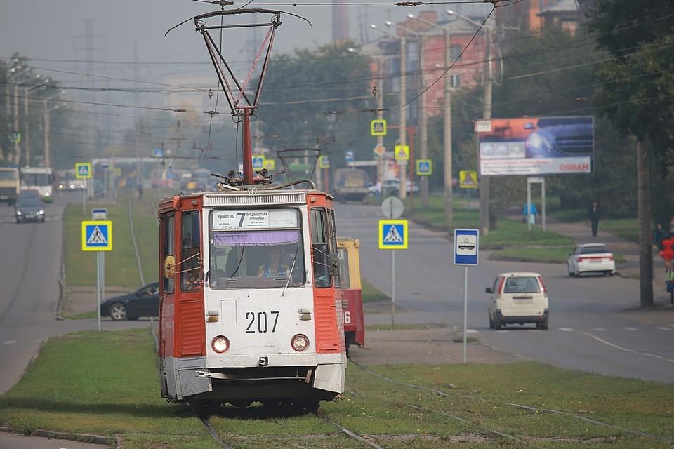 В Красноярске еще одна пенсионерка попала под колеса трамвая