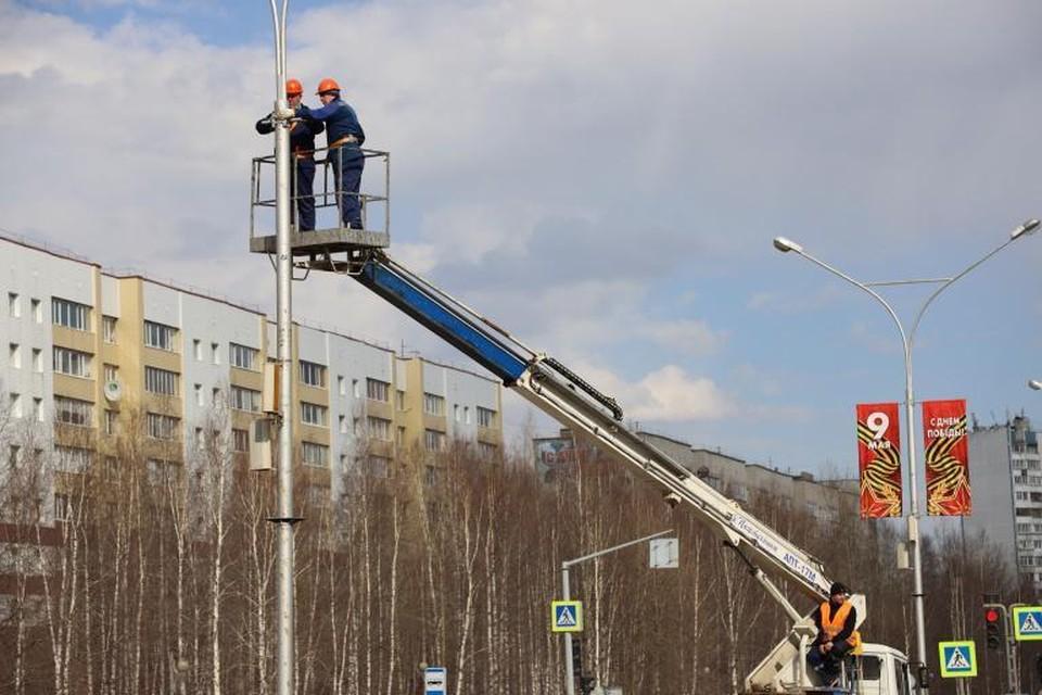 Нижневартовск готовится к празднованию 76-й годовщины Победы в Великой Отечественной войне Фото: Администрация Нижневартовска