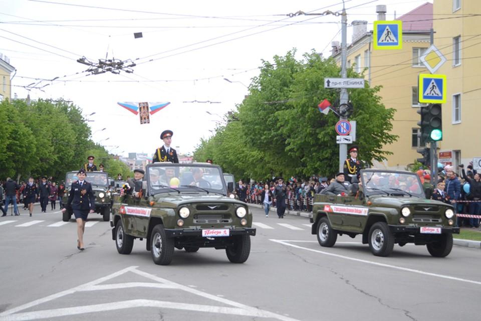 Из массовых мероприятий в 2021-м оставили только торжественный марш по проспекту Ленина и фейерверк.