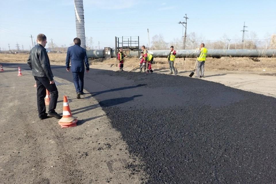 Ремонт дорог по национальному проекту набирает обороты в Хабаровском крае