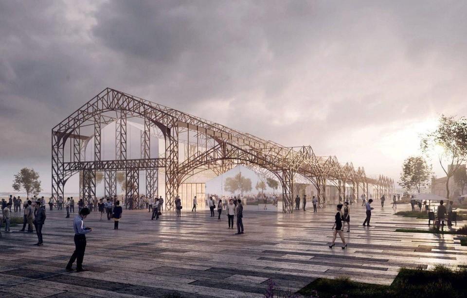 Концертный зал и галерею в пакгаузах на нижегородской Стрелке построят две московские компании к декабрю 2021