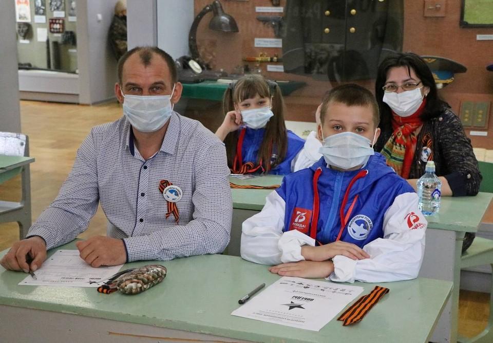 В акции приняли участие больше трехсот смолян. Фото: Андрей Смирнов.