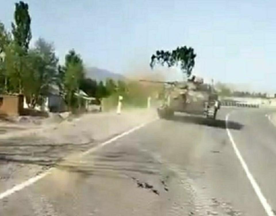 Перестрелка на киргизско-таджикской границе возобновилась