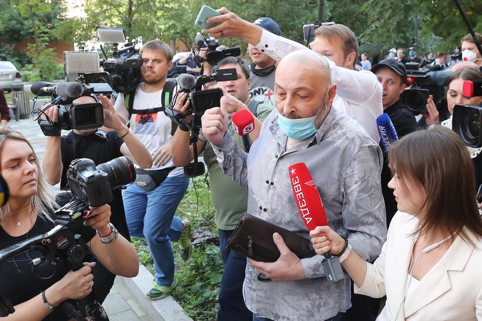 Теван Бадасян услышит вердикт суда уже сегодня. Фото: Сергей Савостьянов/ТАСС