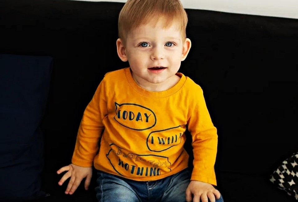 Михаилу 1,4 года. Фото: личный архив мамы мальчика