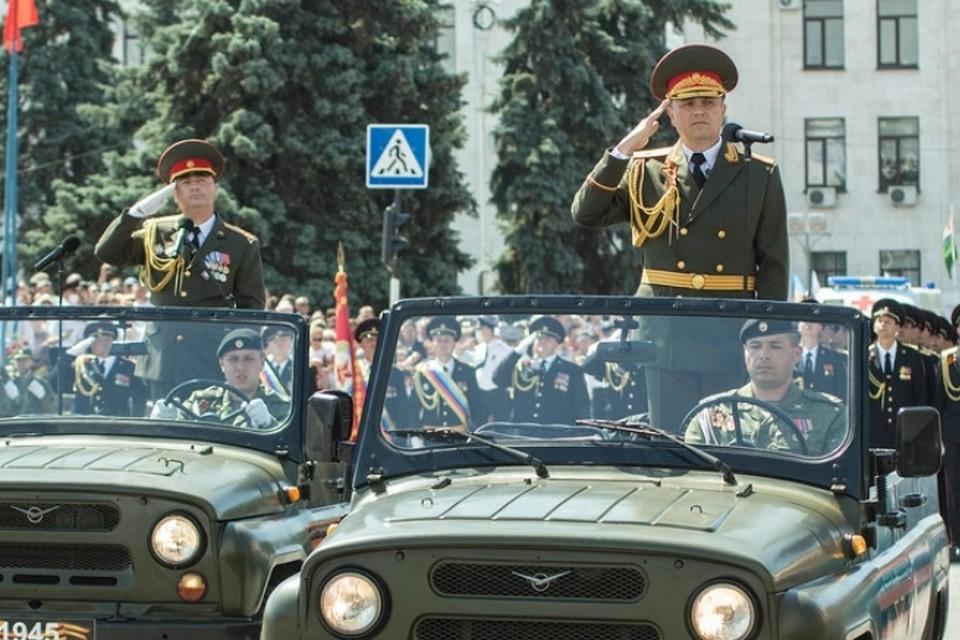 В ЛНР продолжается подготовка к Параду Победы (архивное фото). Фото: ЛИЦ