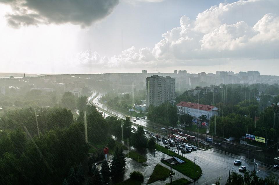 Синоптики обещают дождь в Ижевске 1 мая